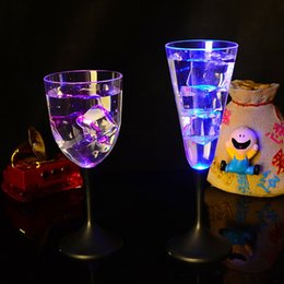 $enCountryForm.capitalKeyWord NZ - Liquid active LED Champagne Glass Glowing Champagne Beer Wine Drinking Glass cocktail glass concert bar disco party wedding decoration