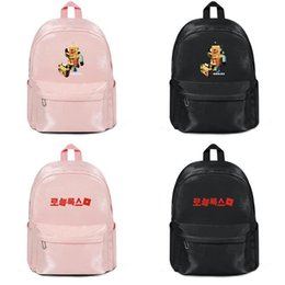 $enCountryForm.capitalKeyWord Australia - Roblox Robot Boy's Graphic radio Harajuku Women Men Water Resistant Black Canvas School Durable Wip Backpack trendy Student Male and Bag