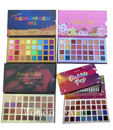 Wholesale caked makeup online – design New Makeup Amor us colors Eyeshadow Palette Remember Me Bubble pop Cake pop Famme Fatale Matte Shimmer Eye Powder