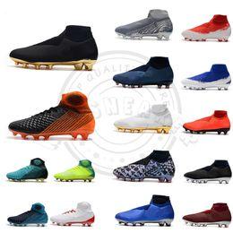 Camouflage boots men online shopping - New Phantom VSN Vision Elite DF FG AG Outdoor Soccer Shoes X EA Sports Football Boots Cleats Black Golden Orange scarpe calcio