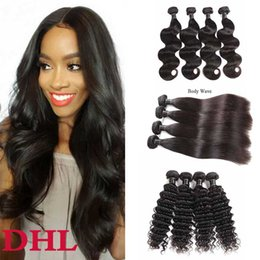 $enCountryForm.capitalKeyWord Australia - 8A Brazilian Virgin Hair Kinky Curly 5 6 Bundles Wholesale Cheaper Peruvian Malaysian Body Deep Wave Human Hair Weaves Extensions 50g pcs