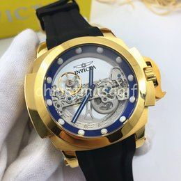 mens 52mm watches UK - 2020 NEW Transparent Style Hot Selling High Quality DZ Watch Venom 116610 Batman 52mm Sky-Dweller - Asia Mechanical Automatic Mens Watches
