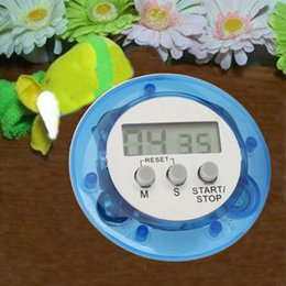 $enCountryForm.capitalKeyWord Australia - Kitchen Timer Helper Mini Digital LCD Kitchen Count Down Alarm Mini Round Cute Cooking Timer Gadgets