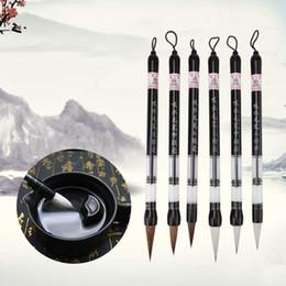 Piston set online shopping - XRHYY Set Water Brush Pen Piston Water Color Brush Chinese Japanese Calligraphy Pen for Beginner Painting can Reuse