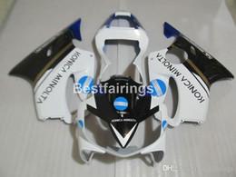 $enCountryForm.capitalKeyWord Australia - Injection bodywork fairing kit for Honda CBR600 F4i 01 02 03 white black fairings CBR600F4i 2001 2002 2003 HW21
