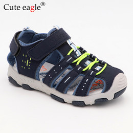 $enCountryForm.capitalKeyWord Australia - Rubber Closed Toe Kids Sports Children's Summer Beach Boys Girls Sandals For Toddler Kid No.899 MX190727