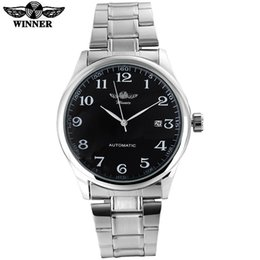 $enCountryForm.capitalKeyWord Australia - Winner Famous Brand Men Business Automatic Self Wind Watches Auto Date Man Fashion Mechanical Wristwatches Stainless Steel Band Y19062004