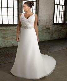 sheer white bridal wrap 2019 - 2019 Cheap A-line Beaded Wedding Dresses Vintage Simple V Neck Bohemian Beach Bridal Gown Custom Made discount sheer whi