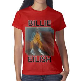 Best Printed Shirts Australia - 47 best Billie Eilish images Women Tee Printed Running Personalised T Shirts Printing Crew Neck Shirts Womans Black T Shirt