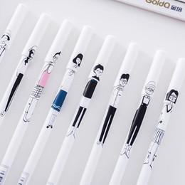 $enCountryForm.capitalKeyWord Australia - Stationery Popular Creative Hand-Painted Gel Pen Office Signature Pen school office supplies student Gel pen