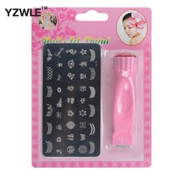 $enCountryForm.capitalKeyWord Australia - tool effect 1 Set New Nail Art Stamping Set Stamp Nail Art Kit 2 in1 Stamp + Scraper and Square Image Plate