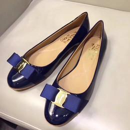 $enCountryForm.capitalKeyWord Australia - Women Pumps Dress Shoes Flat Heels Varina Ballet Pompe da donna Sexy Luxury Chaussures de femmes Lady Shoes Wedding Formal Slip On Summer