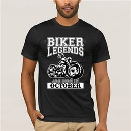 blue october 2019 - Biker Legends Are Born In October T Shirt Bikers Dad Christmas Birthday Gift cheap blue october