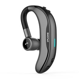 $enCountryForm.capitalKeyWord NZ - IPUDIS Wireless Earbud Ear Hook Bluetooth Earphone 170mAh Single Handfree with Microphone for Driving