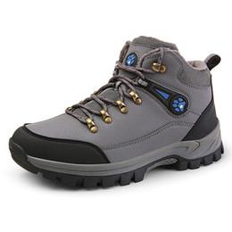 $enCountryForm.capitalKeyWord NZ - Big Size 47 Hiking Shoes for Men Outdoor Sneakers Waterproof Anti-skid Mountain Trekking Boots Winter Warm Sport Tourism Shoes #4655