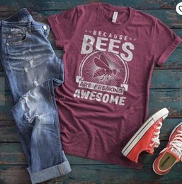 $enCountryForm.capitalKeyWord NZ - 2019 New Fashion Save The Bees Ins Women Tshirts Tees Graphic Instagram Tops Shirt Summer Top Y19072001