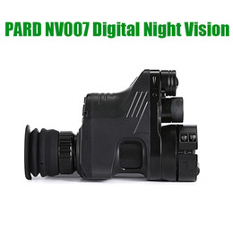 x vision camera NZ - PARD NV007 Digital Night Vision Scope Hunting Cameras 5w IR Infrared Night Vision Riflescope 200M Range Night Rifle Optic