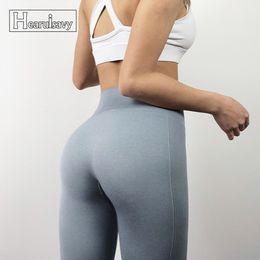 Workout Capri Leggings Australia - Hearuisavy Women Yoga Pants Seamless High Waist Push Up Tight Capri Leggings Fitness Pants Ladies Sexy Workout Aerobics #708152