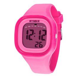 Men Digital Wrist Watches UK - Selljimshop 2017 1PC Silicone LED Light Digital Sport Wrist Watch Kid Women Girl Men Boy Date Clock Watch 7 Colors Dropshipping
