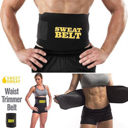 $enCountryForm.capitalKeyWord Australia - Waist Trimmer Sweat Belt Control Figure Body Shaper Sport Sweat Body Suit Walking Jogging for Man Women Keep Fit