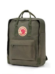 high quality backpack brands Australia - New Style Fjallraven Top Sell Canvas Bags Fashion Brand Outlet Mom Bags Casual Computer Bags High Quality Eating Chicken Backpacks Popular