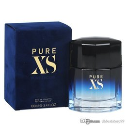 Wholesale pure male resale online – PURE XS man perfume EDT ml the same French brand floral notes good quality and fast free delivery