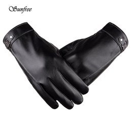 $enCountryForm.capitalKeyWord Australia - Sunfree 2016 Hot Sale Womens Fashion Men Thermal Winter Leather Gloves Comfortable Brand New High-Quality Nov 25