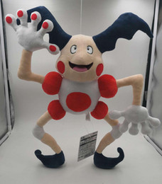 Toy Mr Australia - Hot Sale 18inch 46cm Mr. Mime Pikachu Plush Stuffed Doll Toy For Kids Best Holiday Gifts