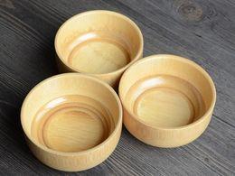 $enCountryForm.capitalKeyWord Australia - 3 PCS lot Bamboo Bowl Household Baby Rice Soup Fruit Bowl Light Wooden Bowl Kitchen Tool