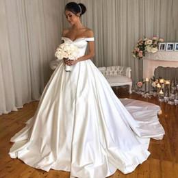 Satén Vestidos Novia Online Vestidos De WH29IYED