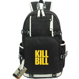 american girl computer UK - Kill bill day pack The Bride daypack Vol 1 schoolbag Film packsack Computer rucksack Sport school bag Out door backpack