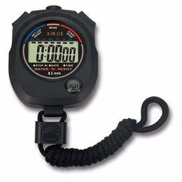sport stopwatches 2019 - NEW Life Waterproof Digital LCD Stopwatch Chronograph Timer Counter Sports Alarm erkek kol saat relogioi drop shipping#Y