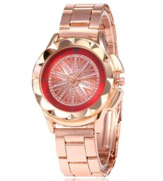 Glasses Trade Australia - Hanban net red fashionable diamond lady new steel band watch foreign trade explosion all over the sky with diamond British Watch