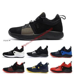 5f209105f5ee 2019 High Quality Paul George 2 PG II Basketball Shoes for Men Cheap PG2 2S  Starry Blue Orange All White Black Sports Sneakers