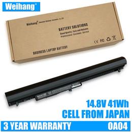 Hp Laptops China Australia - Japanese cell Weihang 14.8V 41Wh OA04 OA03 Laptop Battery For HP 240 G2 G3 CQ14 CQ15 740715-001 746641-001 HSTNN-LB5S HSTNN-IB5S