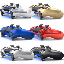 Station Wireless Controllers Australia - Bluetooth Wireless PS4 Controller for PS4 Vibration Joystick Gamepad PS4 Game Controller for Sony Play Station With box TOP Quality