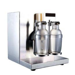 $enCountryForm.capitalKeyWord Australia - FREE SHIPPING Automatic Stainless Steel Double head Bubble boba tea beverage Milk shaking machine Speed Milkshake Machine