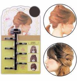 Hair Buns Clip Styles Australia - Hair Styling Tools Weave Braid Hair Braider Tool Clips Twist Bun Maker Roller Accessories Beauty Tools Roller