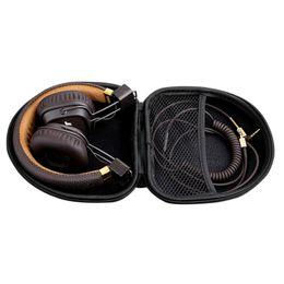 $enCountryForm.capitalKeyWord Australia - New Portable Elliptical Headset Cellphone Case Mp4 Keys Headphone Earphone Storage Mp3 Bluetooth Case EVA Cables