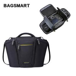 Dslr Cameras Bags Australia - BAGSMART Digital SLR DSLR Camera Shoulder Bag Compact Case Vintage DSLR Camera Messenger Bag
