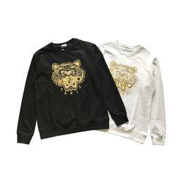 $enCountryForm.capitalKeyWord UK - Men Women Designer Hoodies Brand Mens Letter Embroidery with Tiger Pattern Couple Fashion Hoodies Luxury Men Sweatshirts 16 Styles Hot Sale