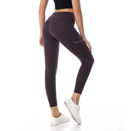 Tracksuit Women For Yoga UK - New Tracksuit for Women Yoga Pants Leggings Stretchy Tight High Waist Hip Up Fitness Sports Pants Gym Runing Seamless Leggings