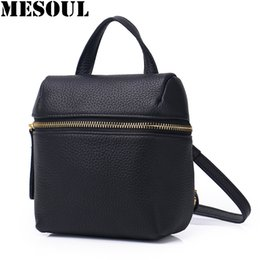$enCountryForm.capitalKeyWord Australia - Candy Color Mini Backpack Women Genuine Leather Travel Shoulder Bags Female Purse Simple School Bag for Teenage Girls Backpacks