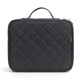nylon makeup box 2019 - Double Layer Large Capacity Brush Storage Mesh Waterproof Nylon Multi Use Carry Box Soft Makeup Bag Organizer Travel Toi