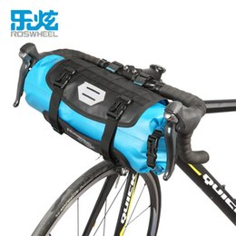 roswheel bike bags Australia - ROSWHEEL ATTACK Bicycle Front Tube Bag Bike Handlebar Bag Pack Bike Baskets Cycle Cycling Storag Front Frame Pannier Accessories