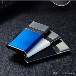 blue cigarettes Canada - New windproof Electronic Rechargeable USB Charge arc lighter metal plasma lighters encendedor isqueiro cigarette lighter