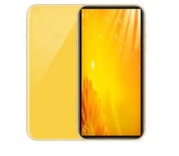 Goophone 11 6.1inch Dört Çekirdek 1GB RAM 4GB ROM MTk6580 Yüz İD Akıllı göster 4GB / 256 GB 4g LTE Kilitli Telefonu göstermektedir cep telefonlan