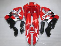 $enCountryForm.capitalKeyWord Australia - Free customize fairing kit for Kawasaki Ninja ZX6R 1994 1995 1996 1997 red black fairings set ZX6R 94 95 96 97 MT22