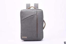 $enCountryForm.capitalKeyWord UK - Convertible Backpack 16.9 inch Laptop Messenger Bag Multi-Functional Shoulder Briefcase Business College Travel School Bookbag
