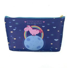 $enCountryForm.capitalKeyWord UK - New Arrive Unicorn Cosmetic Bag Cute Women Make Up Bag Travel Waterproof Portable Makeup Toiletry Kits Necessaire #87312